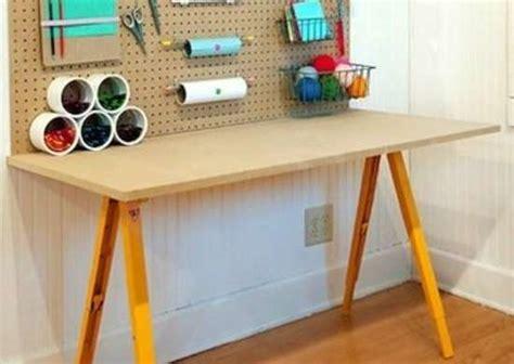 diy craft table workbench  potting table ideas bob vila