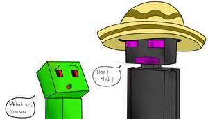 Minecraft Creeper X Enderman