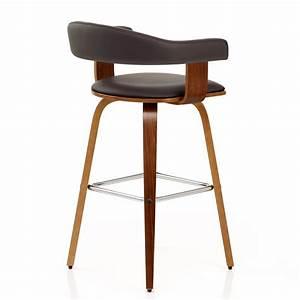 Tabouret De Bar Cuir : chaise de bar faux cuir bois ontario monde du tabouret ~ Dailycaller-alerts.com Idées de Décoration