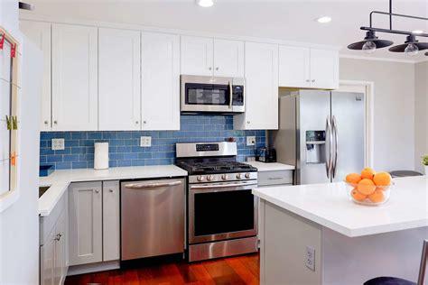 blue kitchen backsplashes youll love cabinet city