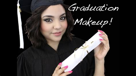 graduation makeup tutorial  graduated youtube