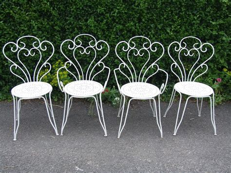 the and elegance of wrought iron garden furniture