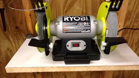 bench grinder reviews 8 inch ryobi bench grinder review