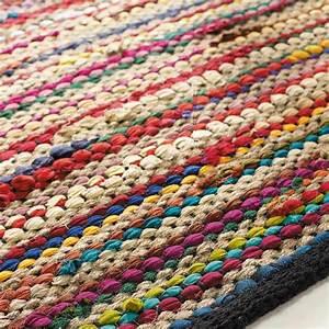 Kinder Teppich 160x230 : flechtteppich aus baumwolle bunt 160x230 kinderzimmer geflochtener teppich teppich bunt ~ Watch28wear.com Haus und Dekorationen
