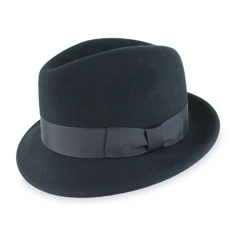 hats of the belfry bollman handmade for belfry quot truman quot wool felt fedora