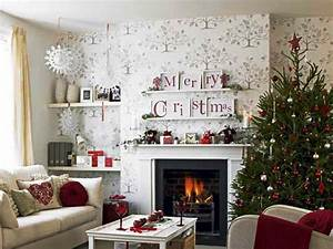 Christmas, Living, Room, Decorations, Ideas, U0026, Pictures