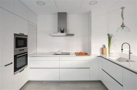 cocina blanca  isla santos brezo  cocinas decoracion de cocina  cocinas santos