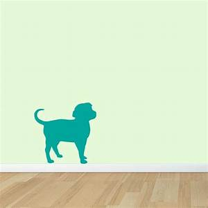 Dog wall decal wall decal world for Dog wall decals