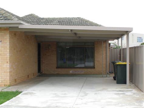 Open Carport Attached To House