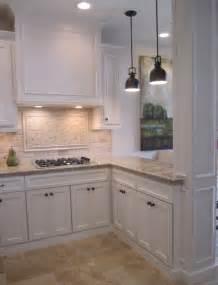 kitchen white backsplash kitchen with white cabinets backsplash and bronze accents kitchens