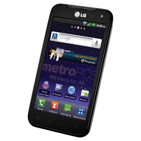 lg metro pcs phones lg connect 4g ms840 metro pcs android used phone cheap