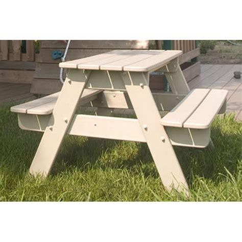 kids plastic picnic table children 39 s picnic tables kids picnic table recycled plastic