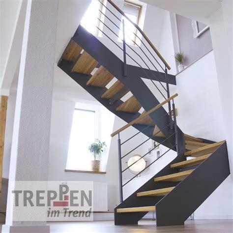 Treppe Mit Holzstufen by Treppen Einzelansicht Treppen Im Trend
