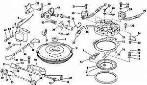 Johnson Magneto Parts For 1984 9 9hp J10rcra Outboard Motor