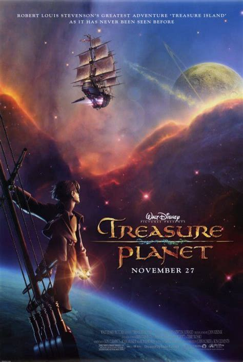Svg's and png's are supported. Treasure Planet 27x40 Movie Poster (2002) | Walt disney animated movies, Disney animated movies ...