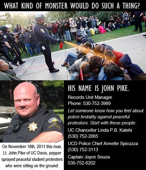 John Pike Meme - uc davis cop who did the pepper spray