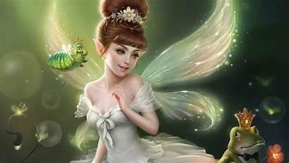 Fairy Wallpapers Fairies 3d Fantasy Angels Desktop