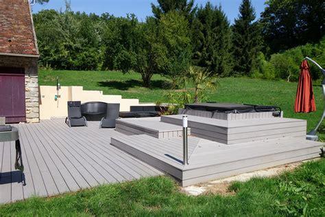 terrasse am 233 nagement bois 233 piphytes paysages