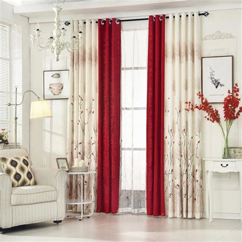 livingroom curtain bedroom garden warm cotton finished