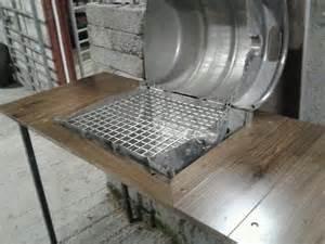 Homemade Beer Keg BBQ Grill