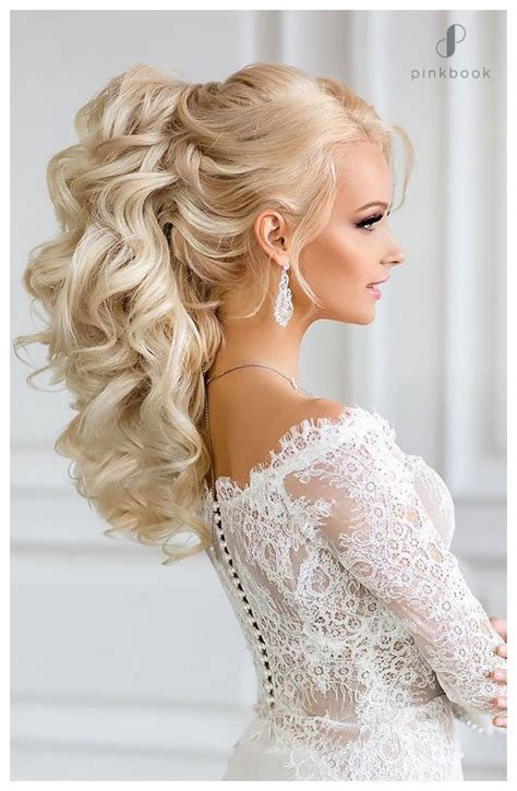 10 beautiful wedding hairstyles for long hair l pink book