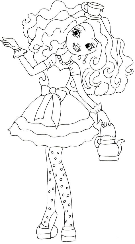 coloring page free printable after high coloring pages madeline