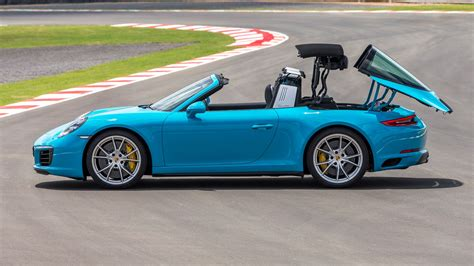 Porsche On Top Of Porsche by Porsche 911 Targa 4 2016 Review Car Magazine