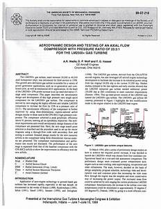 (PDF) Aerodynamic Design and Testing of an Axial Flow ...