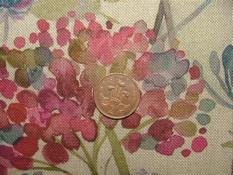 Designer Upholstery Fabric Uk by Voyage Decoration Hedgerow Linen Floral Designer Curtain