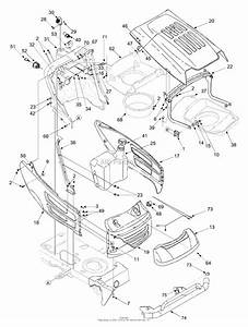 Mtd 14az818h706  2004  Parts Diagram For Hood  Electrical