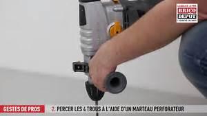 Pied De Biche Brico Depot : comment installer une platine de poteau de cl ture youtube ~ Dailycaller-alerts.com Idées de Décoration