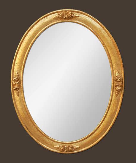 miroirs anciens bois dore petit miroir ovale ancien bois dor 233 decor de roses