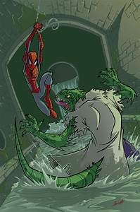 spiderman vs the lizard colors by natelovett on DeviantArt