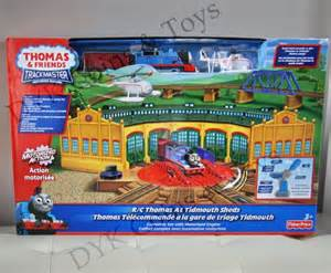trackmaster thomas at tidmouth sheds fischer price 4