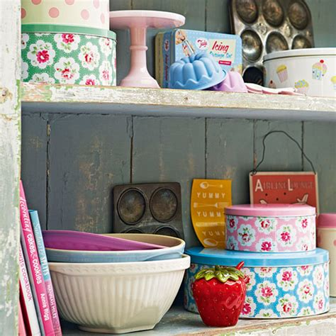retro kitchen accessories uk pretty kitchen storage tins kitchen accessories ideal home 4807
