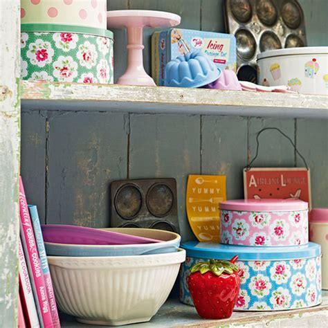 Pretty Kitchen Storage Tins  Kitchen Accessories  Ideal Home
