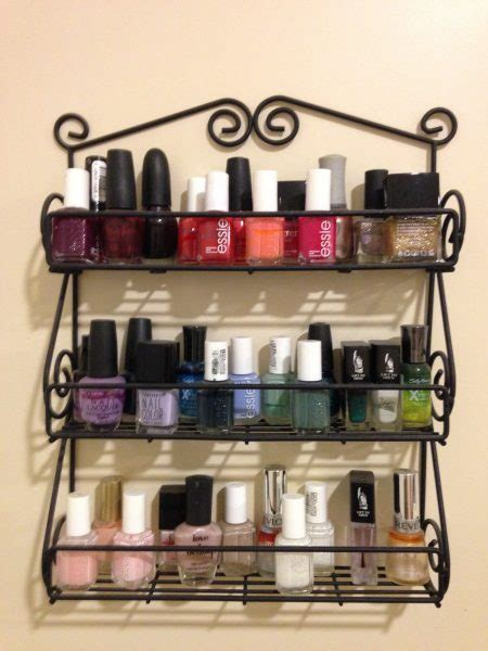 Spice Rack For Nail by 16 Amazing Storage Ideas You Ll Absolutely