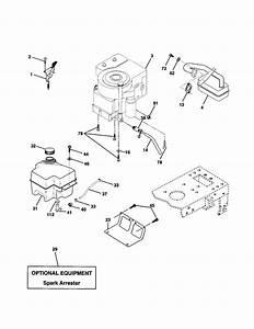 Engine Diagram  U0026 Parts List For Model Pr1842stb Poulan