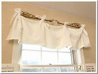 how to make a window valance No Sew Window Valance   In My Own Style