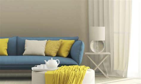 como combinar  sofa azul hogarmania