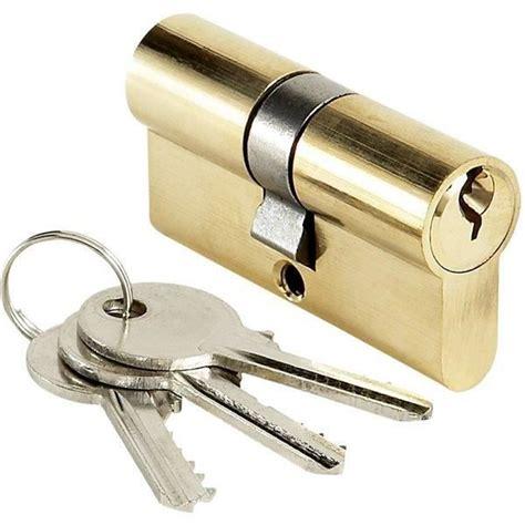 barillet de porte cylindre de porte bricard 35x35 mm barillet de serrure entr 233 e 3 cl 233 s achat vente