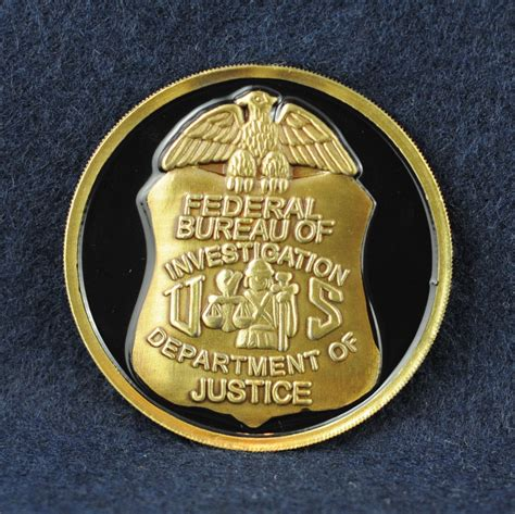 bureau du fbi federal bureau of investigation fbi challengecoins ca