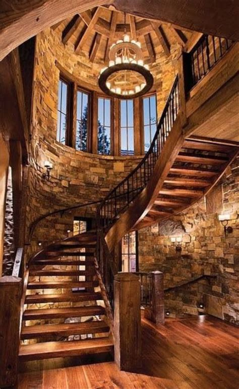 decorating with stone inside the home