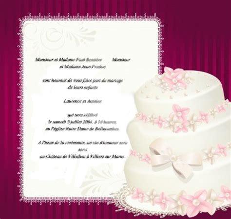 d invitation mariage texte mai 2013 invitation mariage carte mariage texte