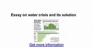 water crisis essay in hindi