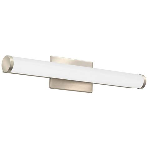 led bathroom vanity lights home depot lithonia lighting contemporary cylinder 2 light brushed
