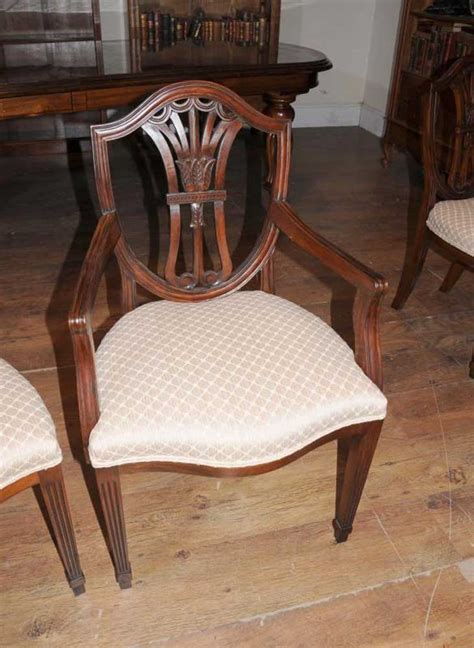 mahogany dining table chairs victorian extender sheraton