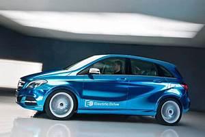 Mercedes Classe B Electrique : mercedes b klasse elektro autosalon paris 2012 ~ Medecine-chirurgie-esthetiques.com Avis de Voitures