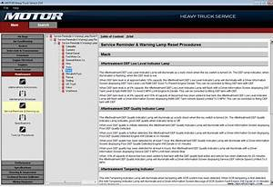 Motor Heavy Truck Service V13 0 2014 Repair Manual Download