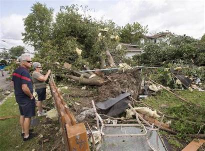 Canada Tornado Tornadoes Quebec Recorded Largest Common